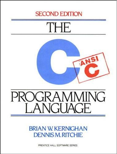 C Programming Language (2nd Edition) Image