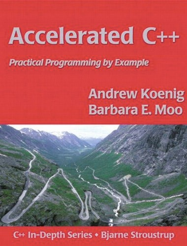 Accelerated C++ Image