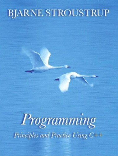 Programming: Principles and Practice Using C++ Image
