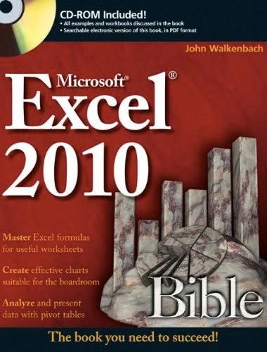 Excel 2010 Bible Image