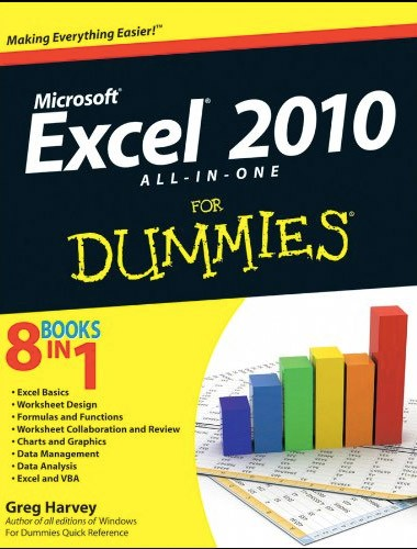 Excel 2010 All-in-One For Dummies Image