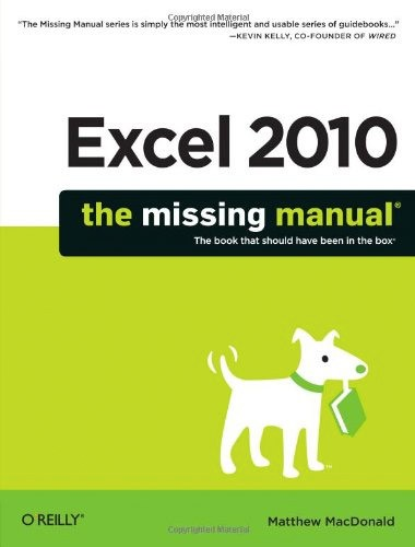 Excel 2010: The Missing Manual Image