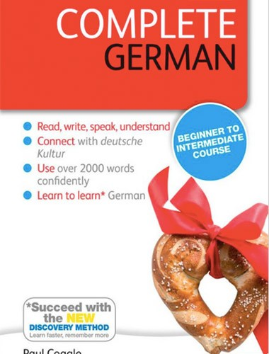 Complete German: A Teach Yourself Program Image