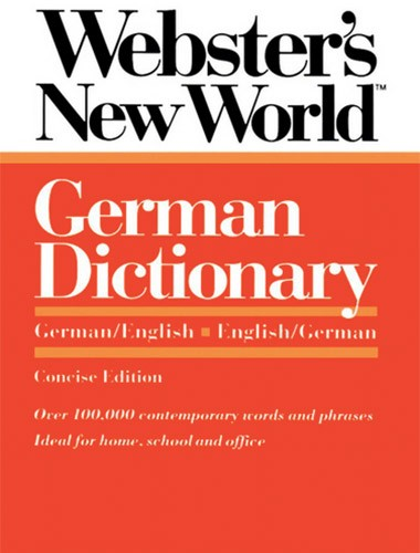 Webster's New World German Dictionary Image