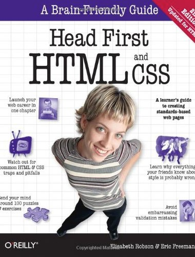 Head First HTML and CSS Image