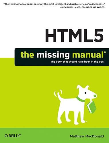 HTML 5: Missing Manual Image