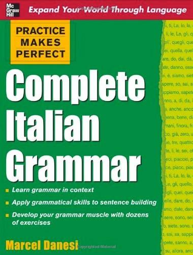 Practice Makes Perfect: Complete Italian Grammar Image