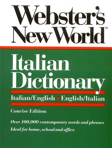 Webster's New World Italian Dictionary Image