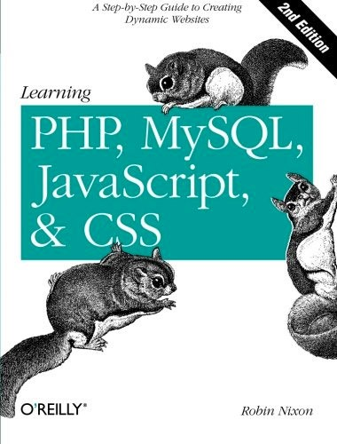 Learning PHP, MySQL, JavaScript, and CSS Image