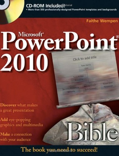 PowerPoint 2010 Bible Image