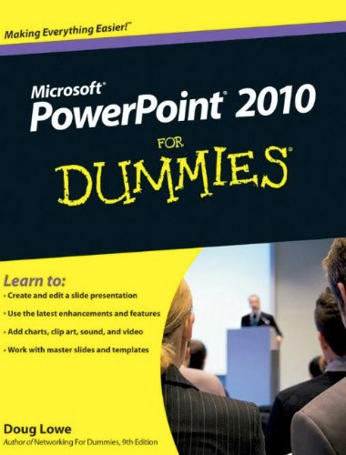 PowerPoint 2010 For Dummies Image