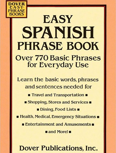 Easy Spanish Phrase Book Image