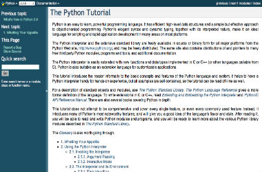 The Official Python Tutorial